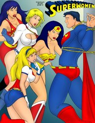 Free Download Porn Comics Superwomen (HQ)