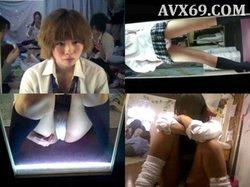 peeping-eyes 002244 一斉摘発 制服女子見学クラブの実態 Case.01